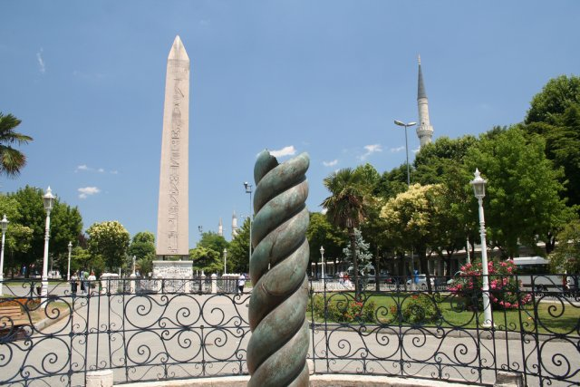 Площадь Султанахмет, Стамбул