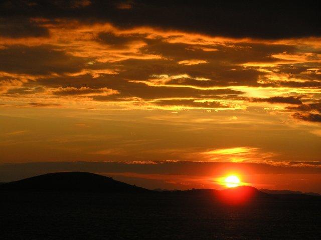 Закат на Адриатике, Хорватия