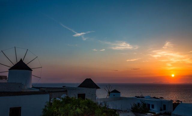 Закаты в Ия, Санторини