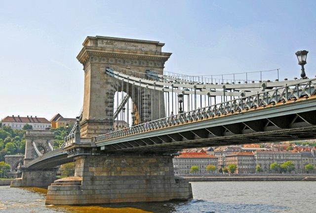 Цепной мост Сечени, Будапешт