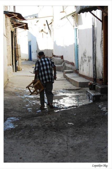 Бухара - на улицах старого города