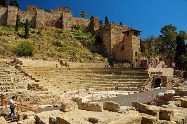 Римский театр, Малага