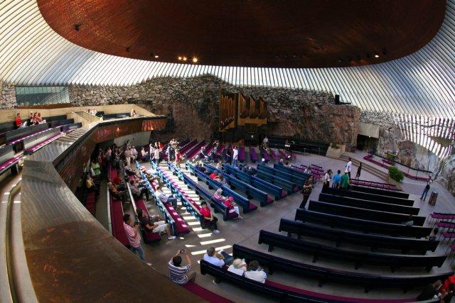 Церковь Темппелиаукио, Хельсинки