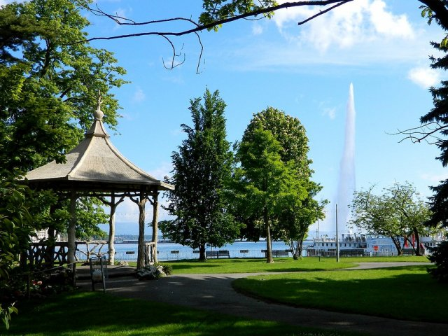 Английский сад, Женева