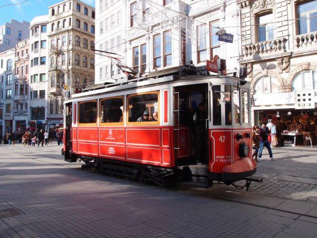 Исторический стамбульский трамвай