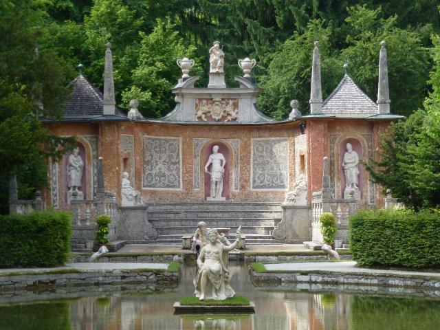 Потешные фонтаны, Зальцбург