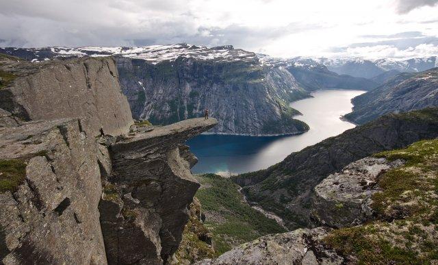 Язык Тролля (Trolltunga), Норвегия