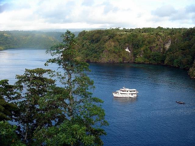 Фьорды туфи, Папуа-Новая Гвинея