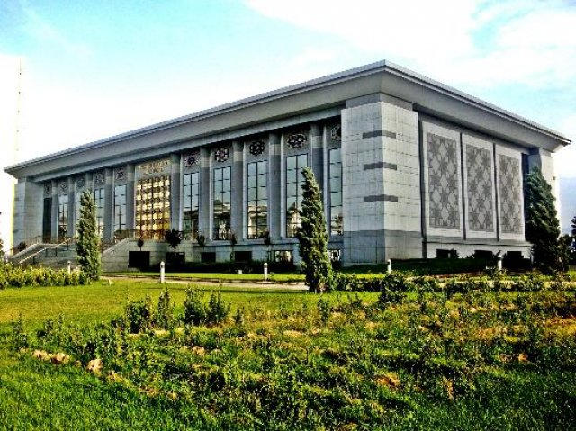 Национальный музей туркменского ковра