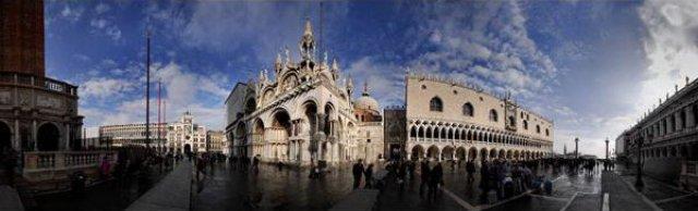 Дворец дожей и Сан-Марко в Венеции