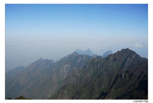 Вид с вершины Фан Си Пан