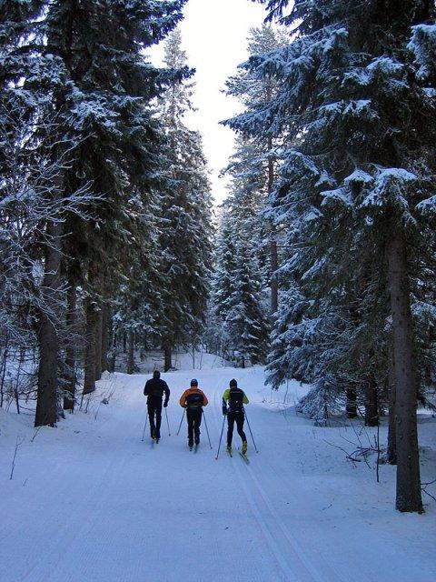 Вуокатти, Финляндия