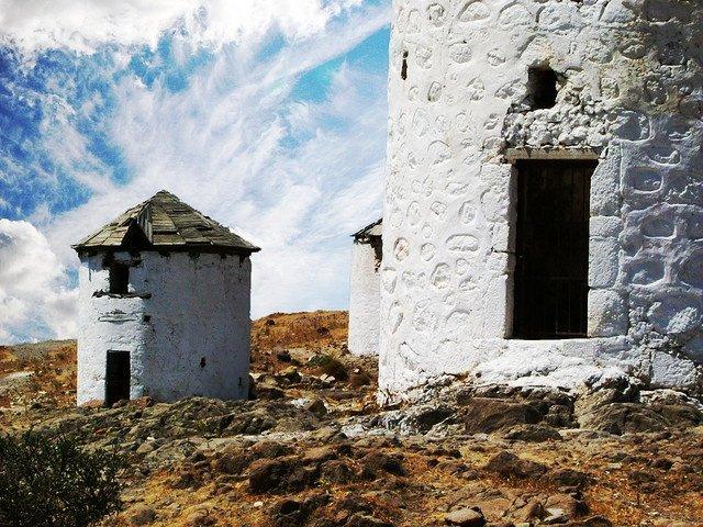 Ветряные мельницы, Бодрум