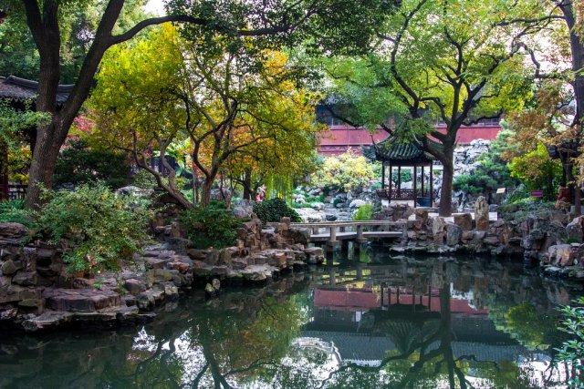 Сад Юй Юань, Шанхай