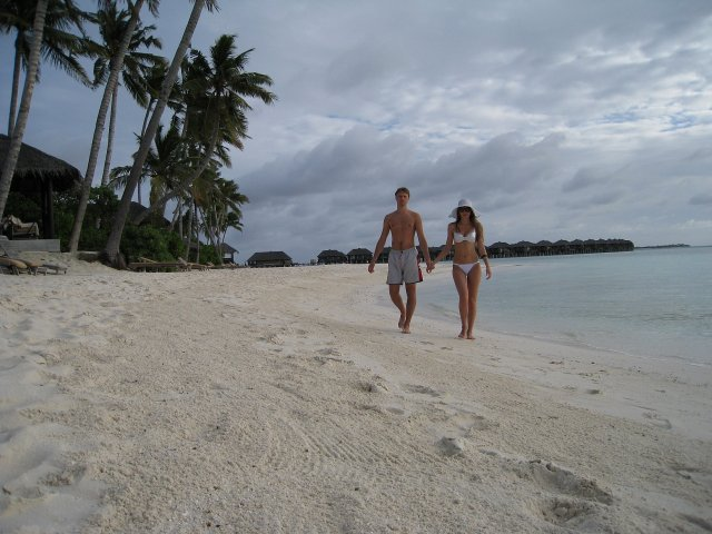 Молодожены, Мальдивы