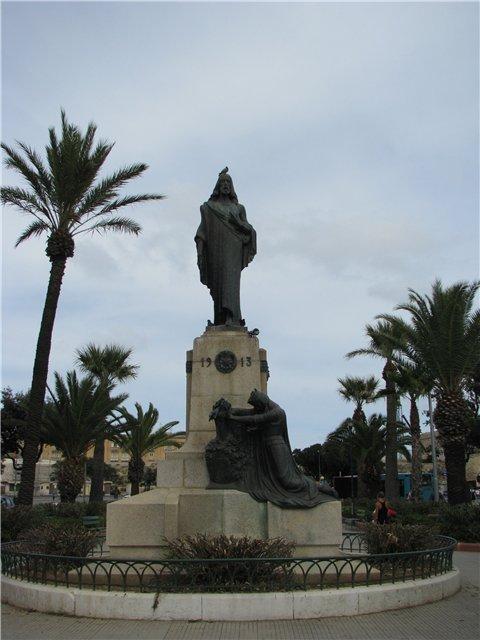 Памятник посвящения Мальты Иисусу Христу