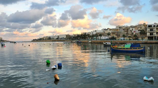 Бухта Wied il-Għajn в Марсаскале