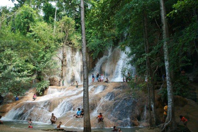 водопад Саёкной