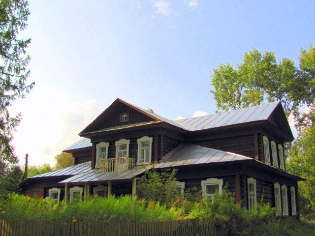 Дом - музей Гумилева и Ахматовой в Градницах