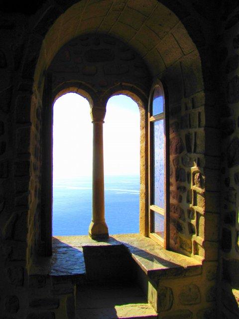 Вид из Судакской крепости