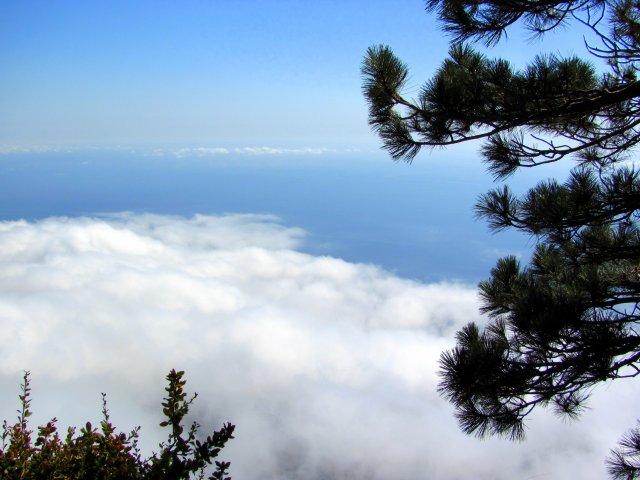 Вершина Ай - Петри. Облака под ногами