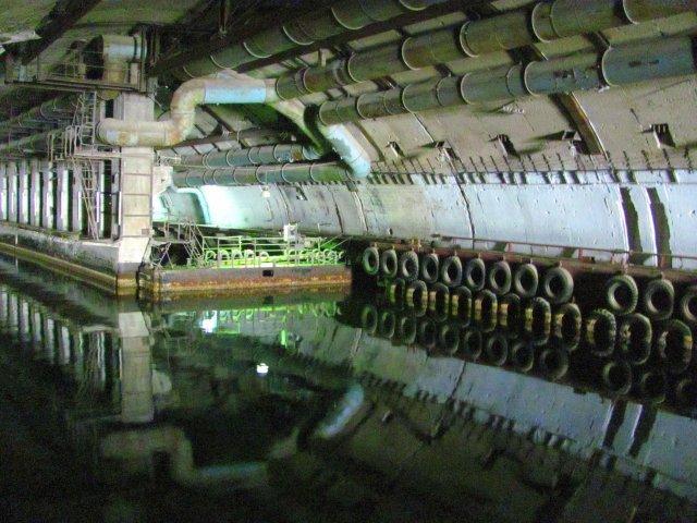 Подземная база подлодок в Балаклаве