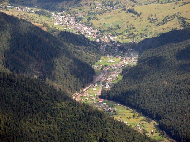 Село Синевирская Поляна