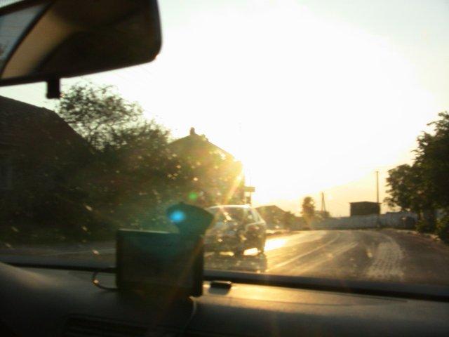 Закатное солнце Прикарпатья сверкающе улыбается нам!