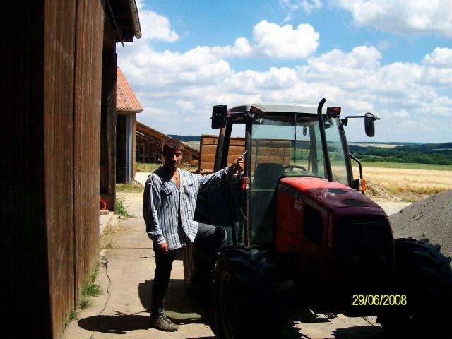 Трактор на котором я ездил)