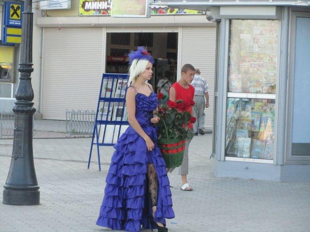 Набережная Алушты, Крым, Украина