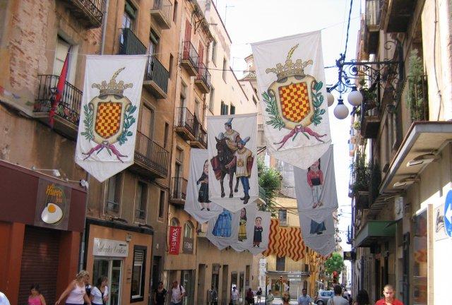 Таррагона. На улицах