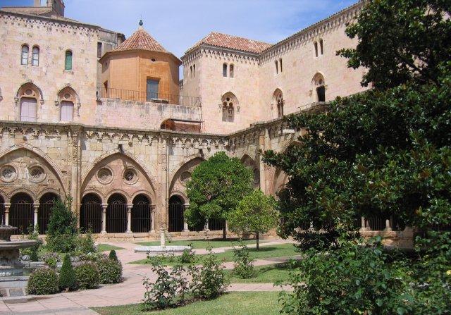 Таррагона. Внутренний двор Кафедрального собора