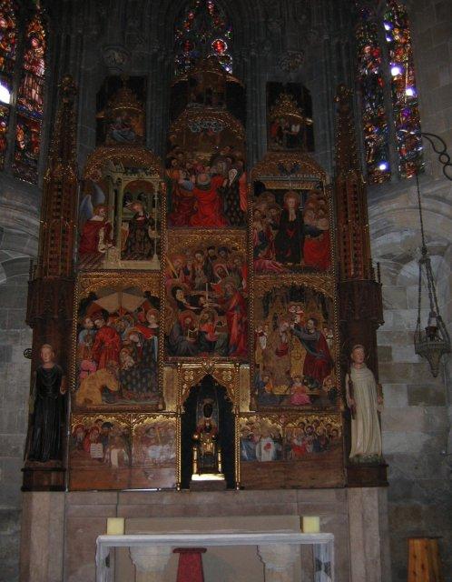 Таррагона. Иконостас собора