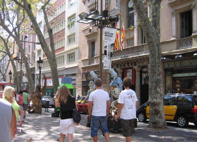 Барселона. Рамбла