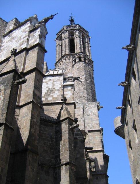 Барселона. К Кафедральному собору