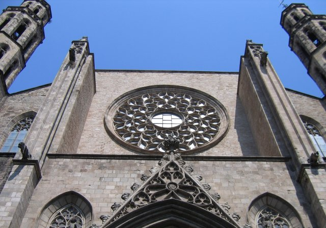 Барселона. Собор. Фасад
