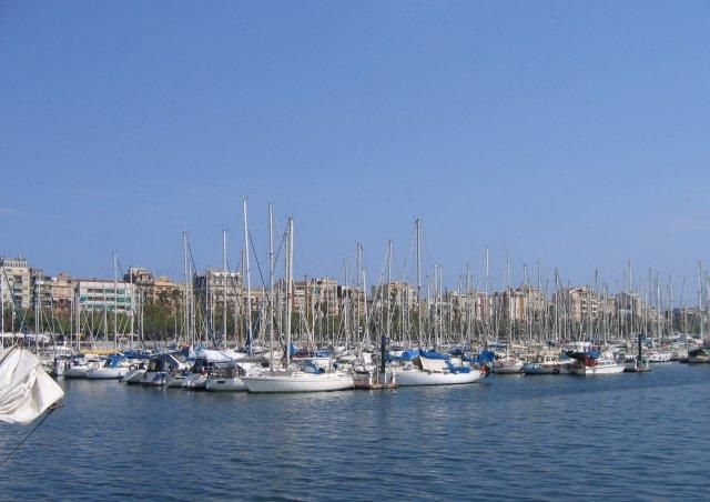 Барселона. В порту