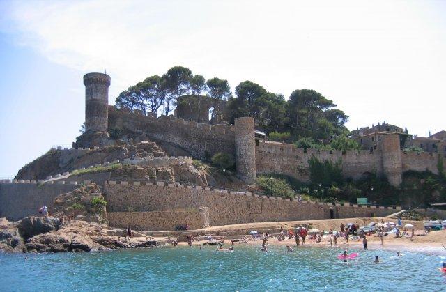 Тосса де Мар. Крепость