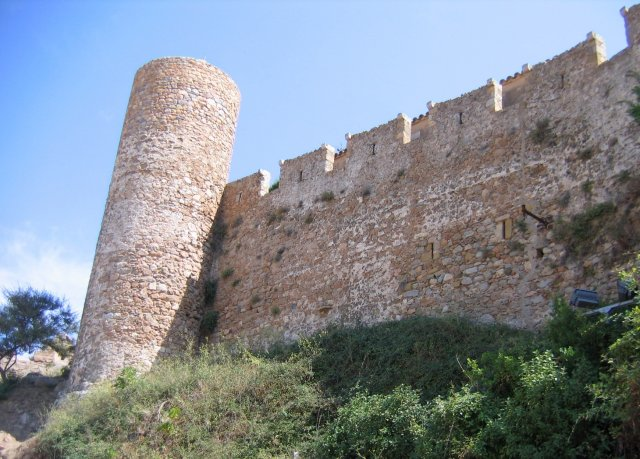 Тосса де Мар. Стены и башни