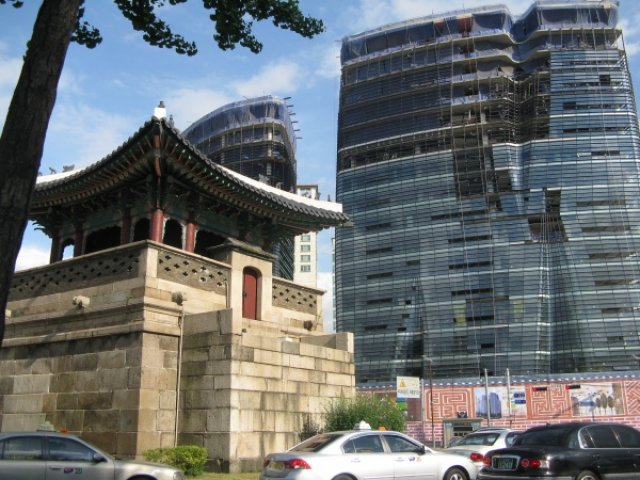 Древность и современность Сеула, Южная Корея