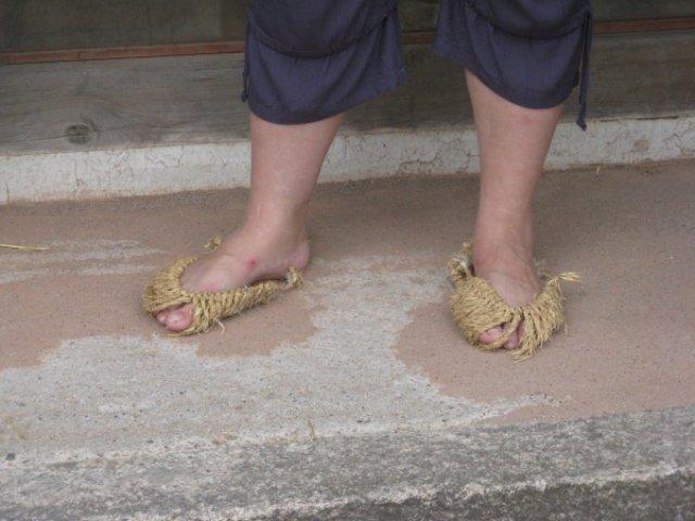 Обувь корейских крестьян