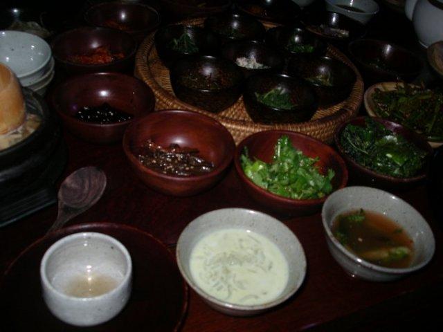 Буддистская кухня, Ресторан Санчон в Сеуле, Южная Корея
