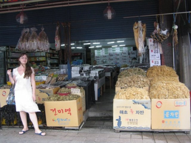 Рыбный рынок Чагальчхи, Южная Корея
