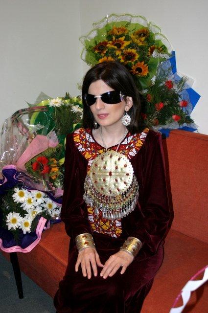 Диана Гурцкая в Туркменистане