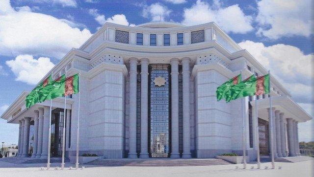 NUSAY - новая гостиница в центре Ашхабада.