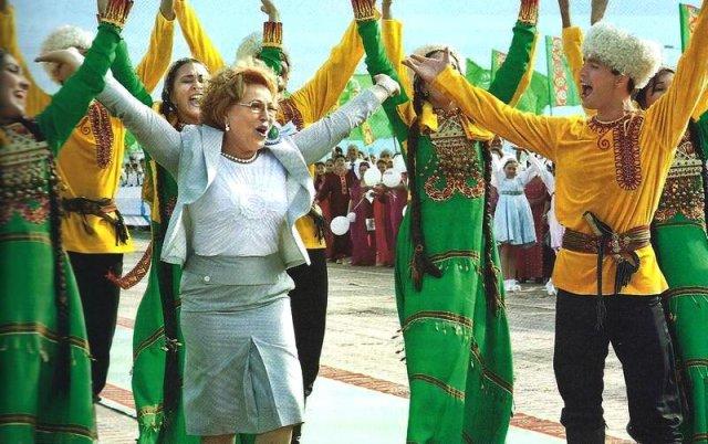 Валентина Матвиенко. Туркменистан, Аваза