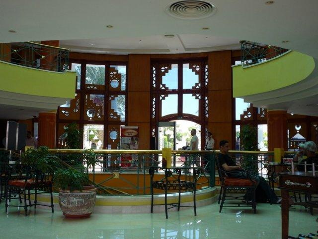 Холл отеля Sol Vergivia 4*, Шарм-эль-Шейх, Египет