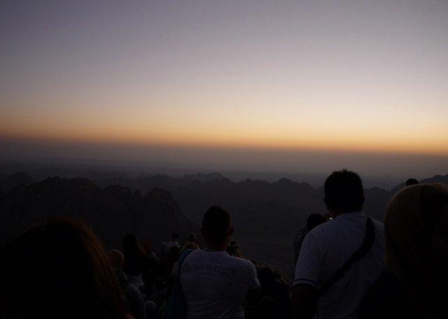 Рассвет над горой Моисея