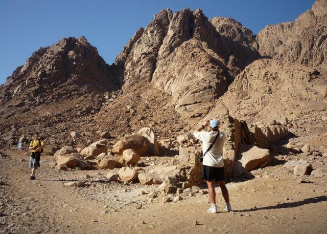 Прощальный снимок в сторону горы Моисея