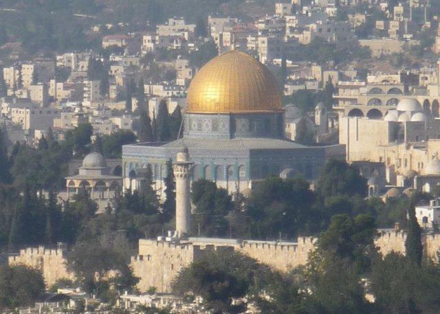 Монумент Куббат ас-Сахра (Купол Скалы) является визитной карточкой Старого города Иерусалима